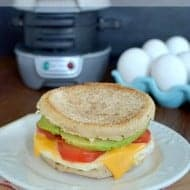 Tomato Avocado Egg Sandwich and BruCrew Top Ten