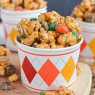 Caramel Pumpkin Spice Popcorn Recipe