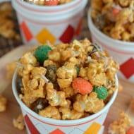 Caramel Pumpkin Spice Popcorn