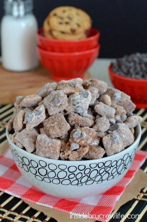Chocolate Chip Cookie Muddy Buddies 1