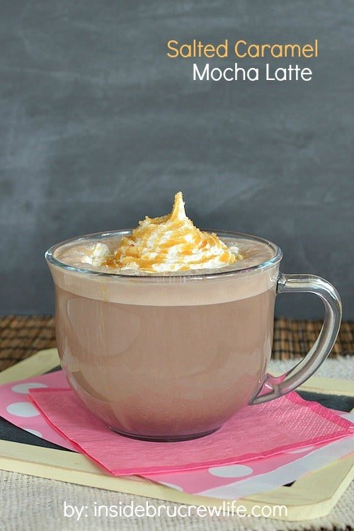 Save yourself some money and try this copycat Salted Caramel Mocha latte recipe in your own kitchen.