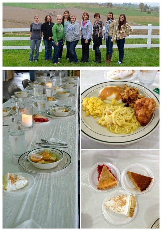 Amish Lunch collage 2