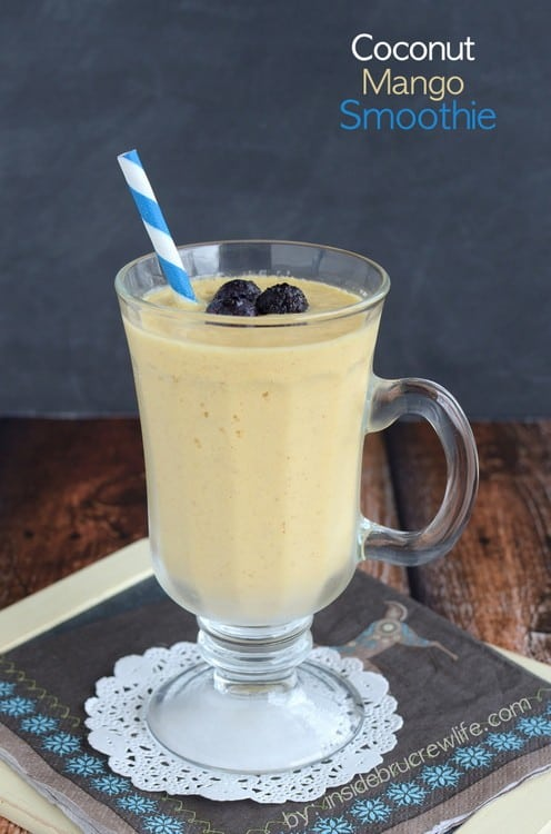 Coconut Mango Smoothie title