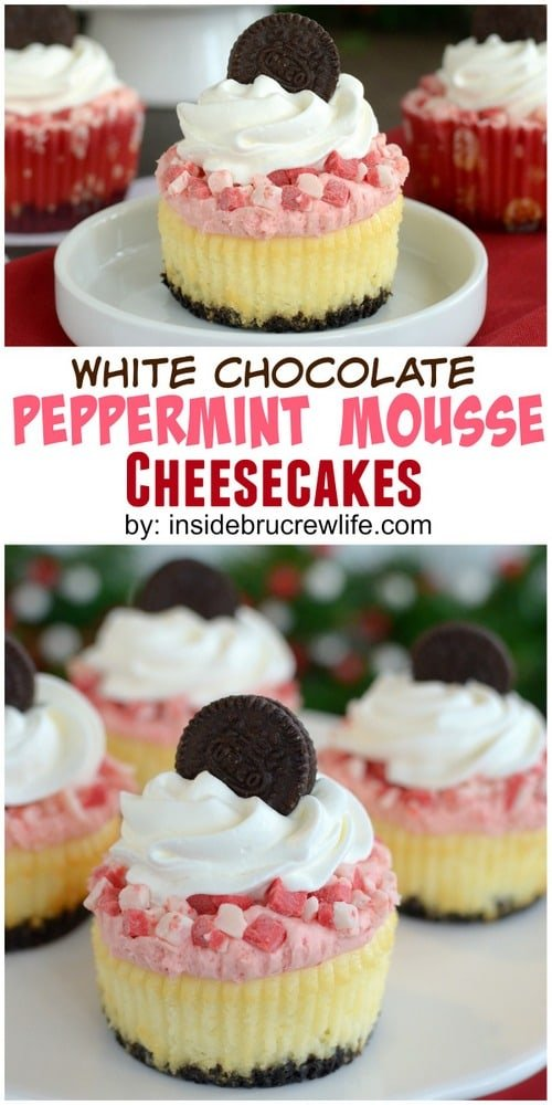 White chocolate and peppermint layers make this an impressive cheesecake for holiday parties!