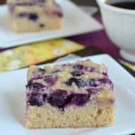 Blueberry Snack Cake