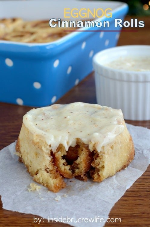 These easy NO YEAST cinnamon rolls can be made and eaten in less than an hour