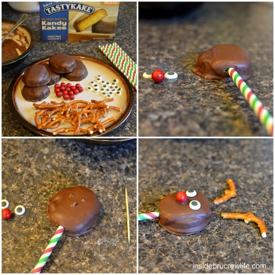 How to make Reindeer Snack Cakes