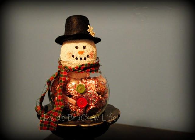snowman candy bowl-1
