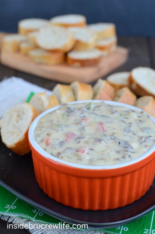Philly Cheese Steak Queso Dip 8