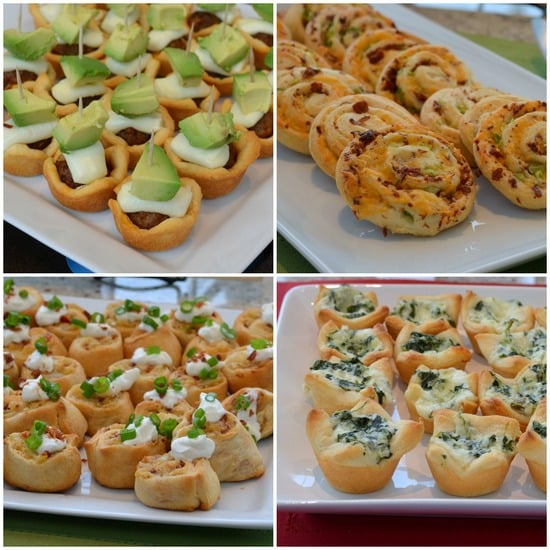 Pillsbury appetizers
