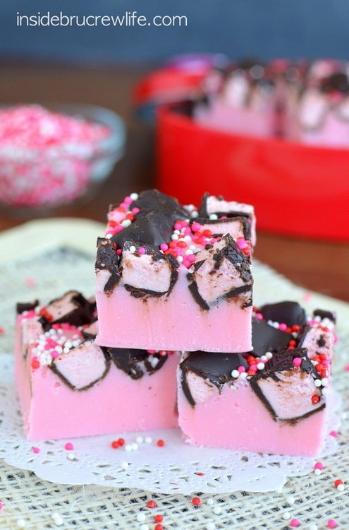 Strawberry 3 Musketeers Fudge 4