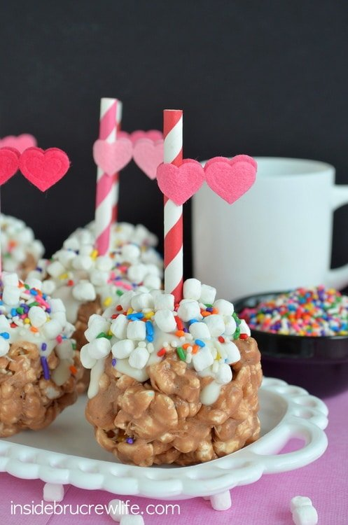 Hot Chocolate Popcorn Balls - a fun and delicious way to enjoy chocolate covered popcorn