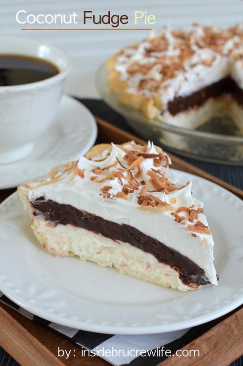 Coconut Fudge Pie