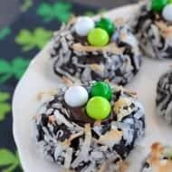 Irish Cream Chocolate Coconut Cookies