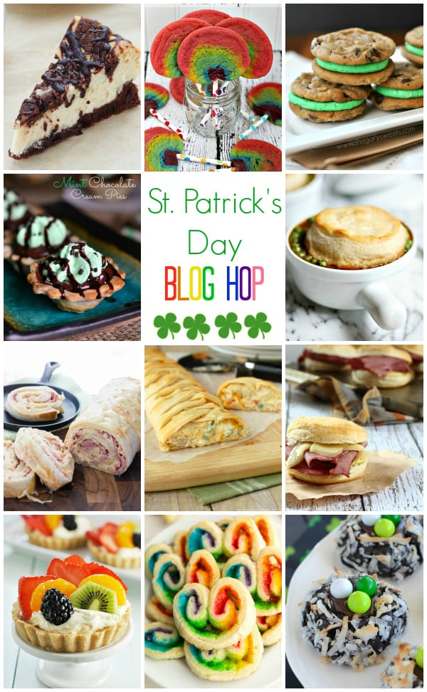 St Patricks Day Blog Hop Pillsbury collage