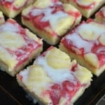 Strawberry Lemon Snack Cake