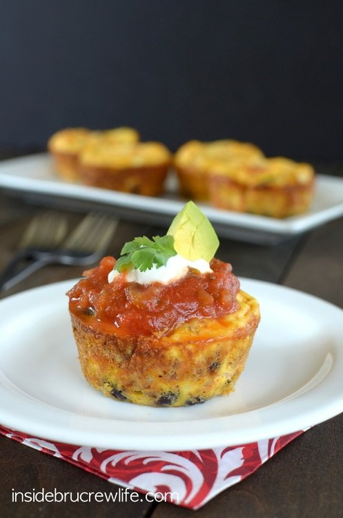 Taco Egg Muffin Cups