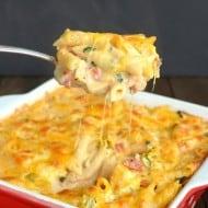 Chicken Bacon Ranch Pasta Bake