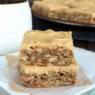 Java Twix Oatmeal Bars