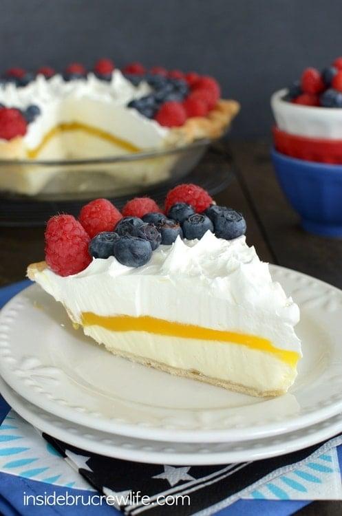 Lemon Cream Berry Pie 1