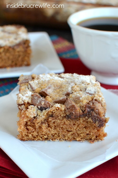 Peanut Butter Cup Coffee Cake