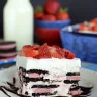 Berry Oreo Icebox Cake