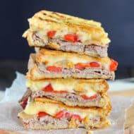 Cheesy Beef Panini