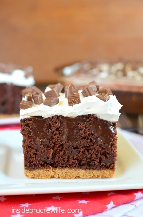 Chocolate S'mores Pudding Cake 1