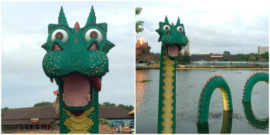 Lego Sea Monster