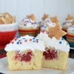Vanilla Cherry Pie Cupcakes