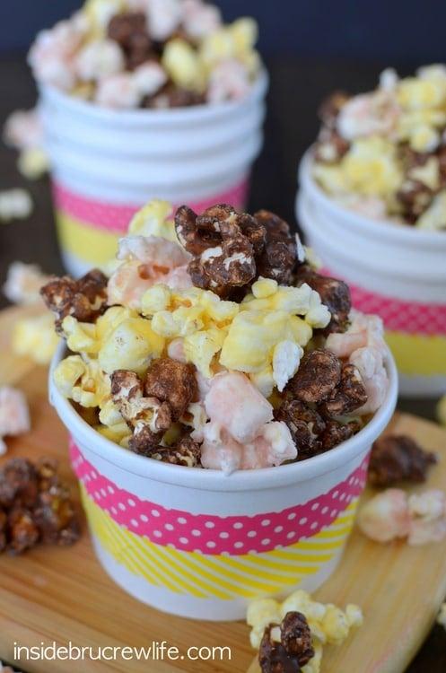 Banana Split Popcorn 4