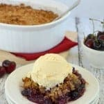 Berry Coconut Crisp