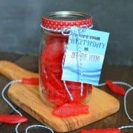 Birthday Candy Jar with Printable
