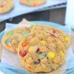 Butterscotch M&M Pudding Cookies