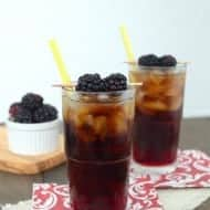 Blackberry Diet Dr. Pepper