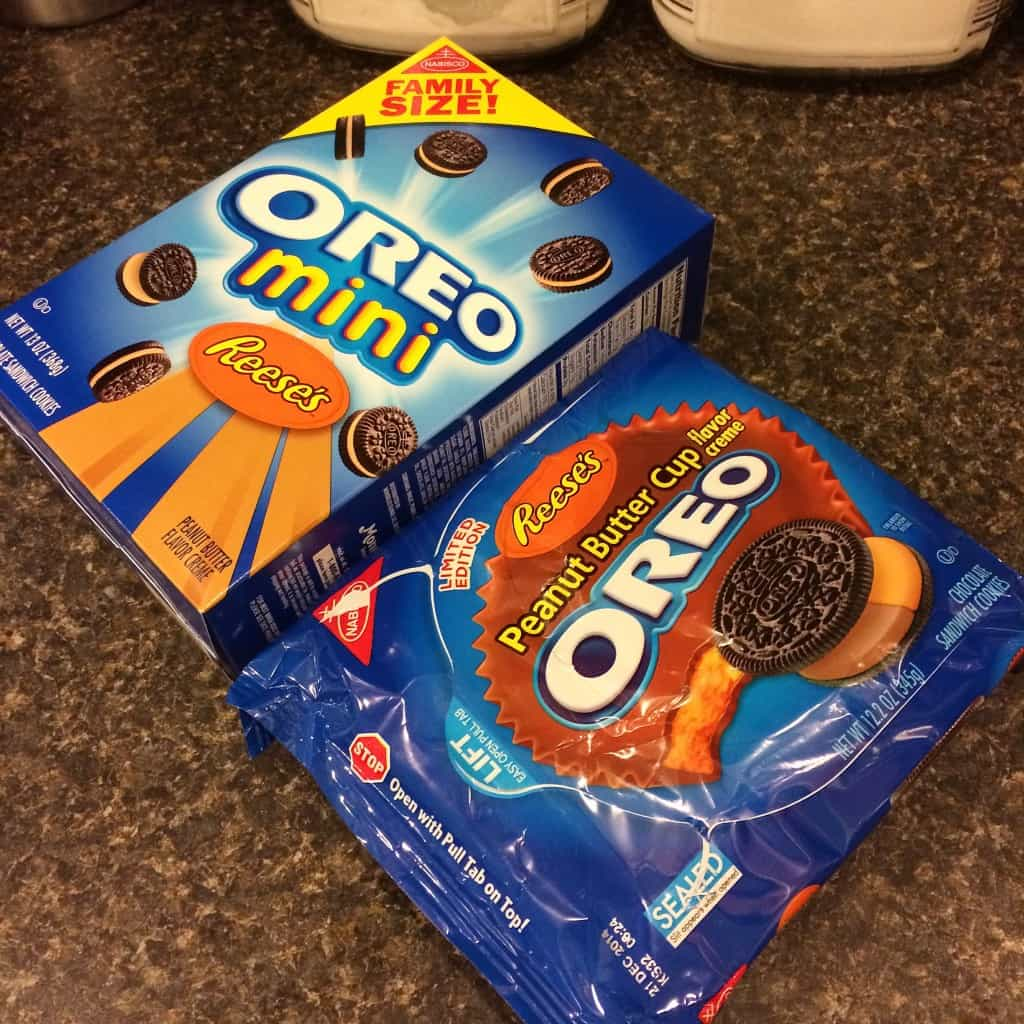 Peanut Butter Cup Oreo cookies