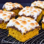 Best Pumpkin S'mores Bars Recipe