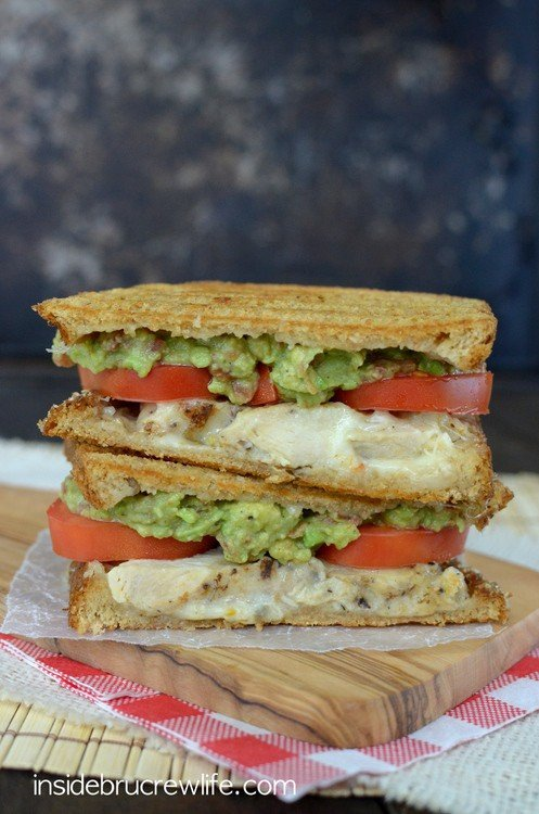 Spicy Chicken Panini 2