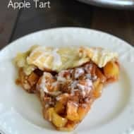 Butterfinger Apple Tart