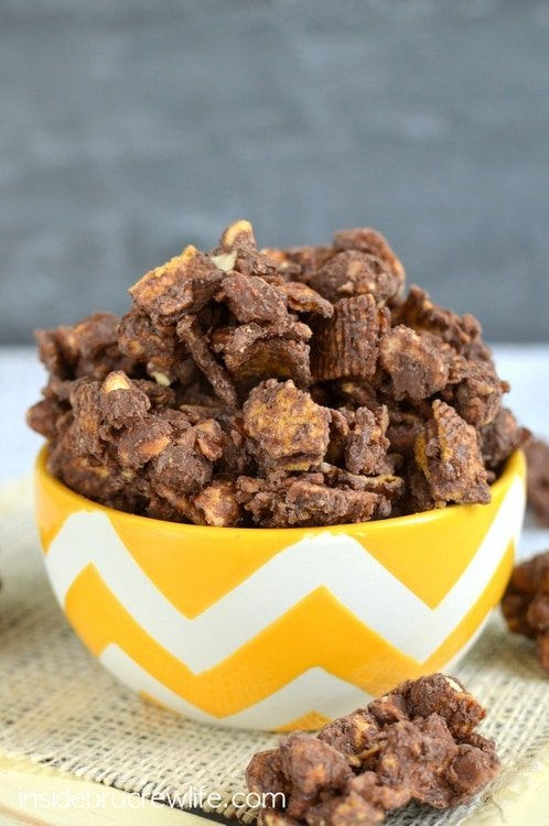 Chocolate Toffee Graham Clusters 5