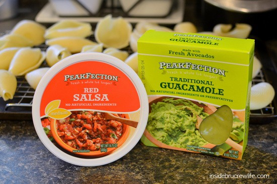 Kroger PeakFection Salsa and Guacamole