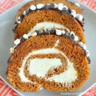 S'mores Pumpkin Roll Recipe