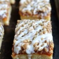 Apple Butter Crumble Cake