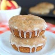 Glazed Cinnamon Apple Donuts