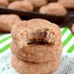 Cinnamon Caramel Cookies