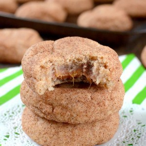 Cinnamon Caramel Cookies title-2