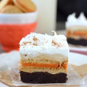 Pumpkin Spice Latte Brownies title-2