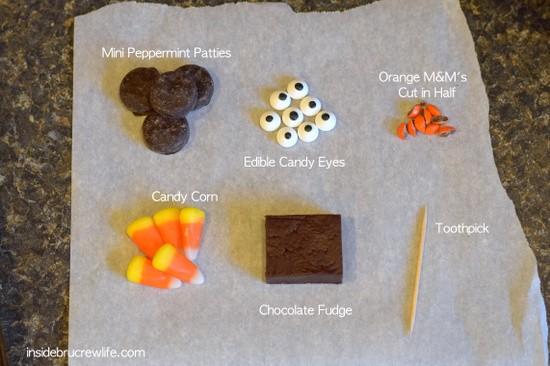 Chocolate Fudge Turkey ingredients