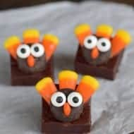 Chocolate Fudge Turkeys