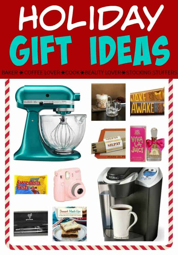 Holiday Gift Ideas for everyone on your list this year!